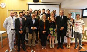 Fotografia de tots els participants en el Taller d'Emprenedors 2018.