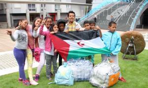 Amb retard, però avui arriben  els deu nens i nenes sahrauísAmb retard, però avui arriben  els deu nens i nenes sahrauís