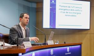 El cap de l'Oficina de l'energia i el canvi climàtic, Carles Miquel, va fer ahir balanç del Renova i en va explicar les novetats per al 2018.