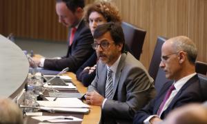 El ministre de Finances, Jordi Cinca, en una sessió del Consell General.