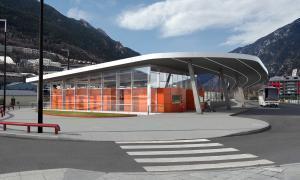 El Govern licita l'estació d'autobusos, que tindrà plaques fotovoltaiques estació autobusos