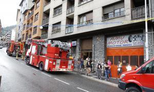 Cinc evacuacions dels bombers per ferits fent senderisme i curses