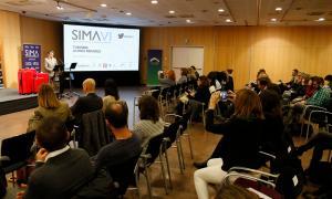 Un moment del Simposi de màrqueting d'Andorra, que va tenir lloc ahir.