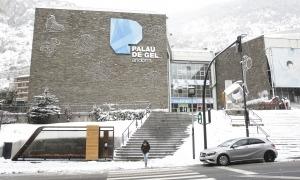 El Palau de Gel canillenc, avui.
