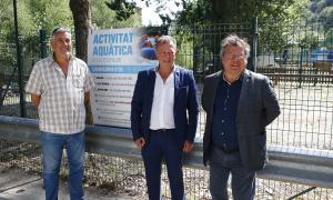 Vila amb el cònsol menor, Julià Call, i el conseller d'Obres i Urbanisme, Joan Vidal, van fer balanç ahir de l'activitat.
