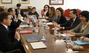 """Martí i Renzi """"celebren"""" treballar conjuntament l'acord d'associació"""