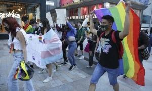 La marxa va començar a les vuit del vespre a la plaça de la Rotonda i va acabar amb un manifest a la plaça Coprínceps.