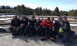 Joves i acompanyants en una de les activitats fetes durant aquest any.