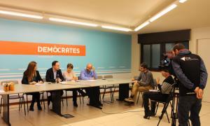 Mas, Espot, Suñé i Martínez Benazet van presentar ahir el servei d'atenció integral a les dones sobre salut sexual i reproductiva.