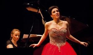 Salvador, en el paper de Violetta a la 'Traviata' que va cantar el març del 2017 al Claror.