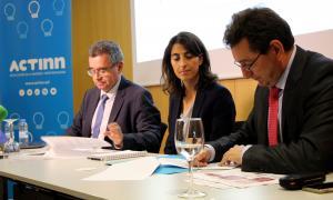 ACTinn signa amb el clúster Tecnara el seu primer conveni internacional