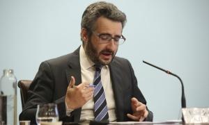 El ministre de Finances, Eric Jover, en una compareixença anterior.
