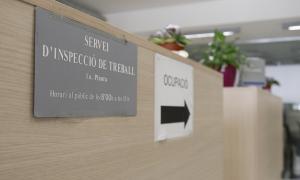 Les instal·lacions del servei d'Inspecció de Treball.