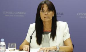 La subsíndica, Mònica Bonell, en una compareixença anterior.