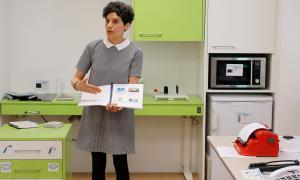 Espot va presentar ahir el pis mostra de productes de suport per a persones en situació de discapacitat.