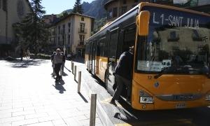 Un autobús de les línies nacionals.