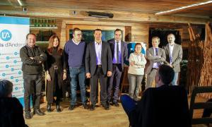Un moment del congrés ordinari de Liberals d'Andorra d'ahir.