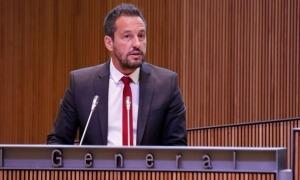 El president del grup parlamentari del PS, Pere López.