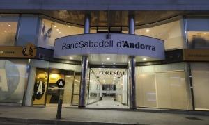 La seu de BancSabadell d'Andorra.