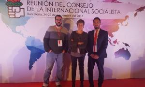 El PS participa en la reunió de la Internacional Socialista