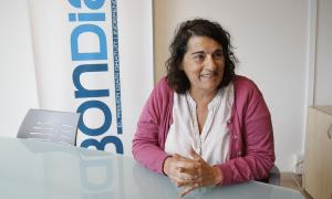 Antònia Escoda, portaveu d'Acció Feminista.