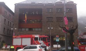 bombers davant Comú Andorra la Vella