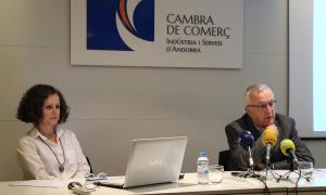 Escaler i Armengol van presentar ahir el resultat de les enquestes de conjuntura del segon semestre del 2017.