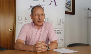 El president de la Unió Hotelera d'Andorra, Carles Ramos.