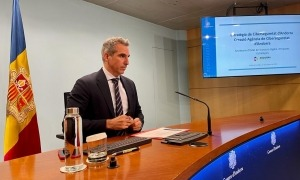 Marquina ha presentat avui l'estratègia de ciberseguretat.