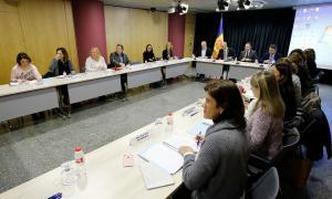 La Comissió Nacional de Benestar Social va mantenir ahir la segona reunió.