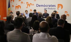 Xavier Espot va donar el sí a l'executiva del partit el passat dimarts.