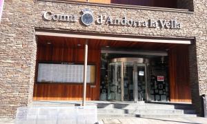 L'edifici del Comú d'Andorra la Vella.