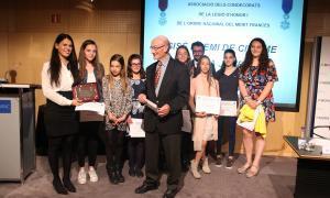 Entrega del premi de Civisme per a la Joventut, que serà biennal