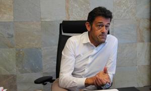 El cònsol major d'Ordino, Josep Àngel Mortés.
