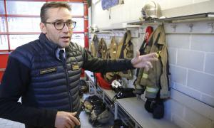 El director adjunt de bombers, Jordi Farré.