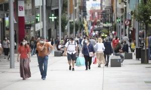 La mascareta és obligatòria en vies i espais públics des del 15 de juliol.