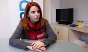 """Mireia Porras: """"Els que treballem en problemes socials necessitem suport psicòlogic"""""""
