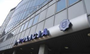 Dependències centrals del cos nacional de policia, a l'edifici de la carretera de l'Obac.