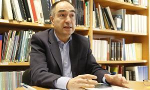 El director tècnic del Centre d'Estudis de la Neu i de la Muntanya, Ramon Copons.