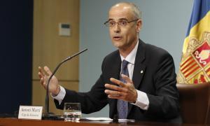 Martí, cautelós i a l'espera de tenir l'informe sobre la corrupció al SAAS