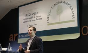 """Palao: """"Andorra es pot convertir en un referent de la innovació"""" Francisco Palao EFA"""