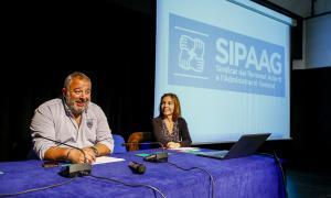 El Sipaag va celebrar l'assemblea general a la sala d'actes de la Llacuna ahir a la tarda.