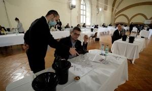 La delegació andorrana va fer de jurat al concurs Grenaches du Monde.