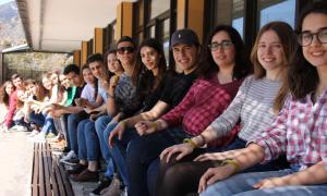 Alumnes del Col·legi Sant Ermengol