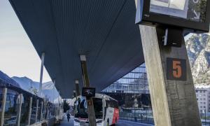 Vista de l'Estació Nacional d'Autobusos.