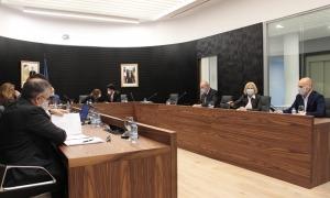 Un moment de la sessió del Comú, ahir a la tarda.