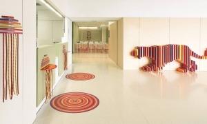 Un espai de la unitat d'oncologia infantil de Sant Joan de Déu.