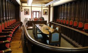 L'hemicicle de Casa de la Vall acull aquest migdia la sessió constitutiva del nou Consell General.