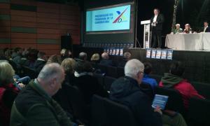 Un moment de la presentació del programa de X'Ordino, ahir al vespre.