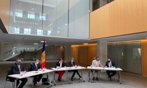 El comitè rector de les Taules de reflexió i debat va presentar ahir la iniciativa.